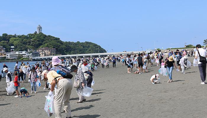 海への思いをアクションに【ゴミゼロクリーンキャンペーン】片瀬東浜、片瀬西浜、鵠沼海岸、辻堂東海岸、辻堂西海岸で開催